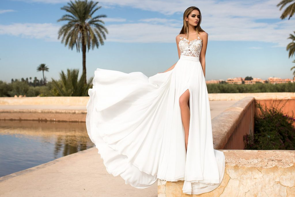 The Irresistible Charm of Empire Wedding Dresses