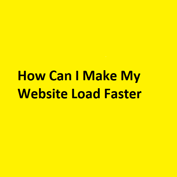 Load fast Website