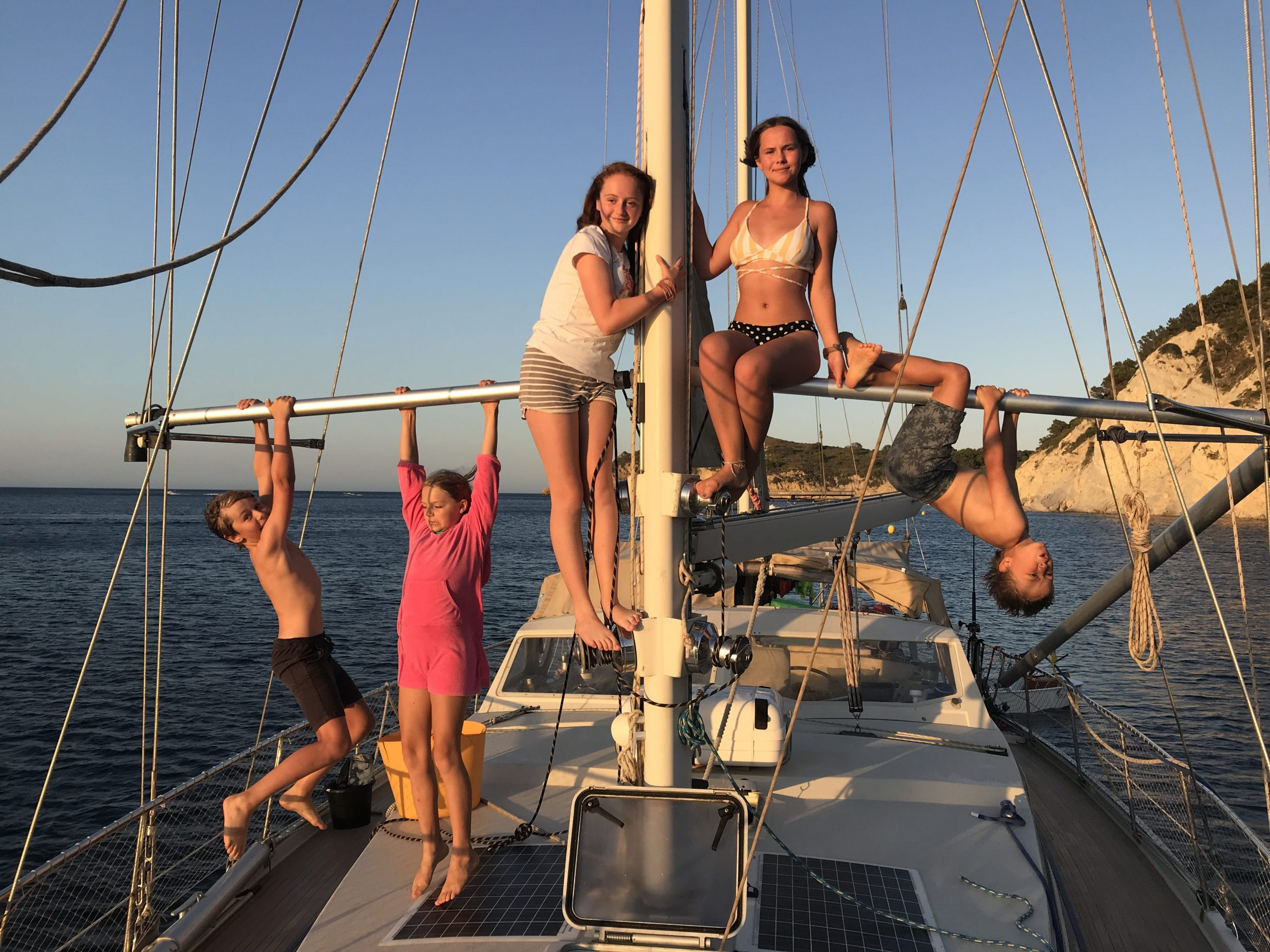 Hooked On Sailing the High Seas