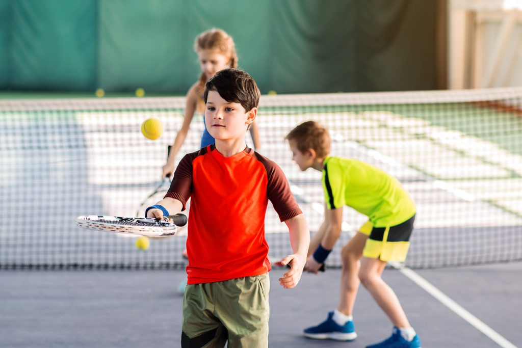 Is tennis important for kids